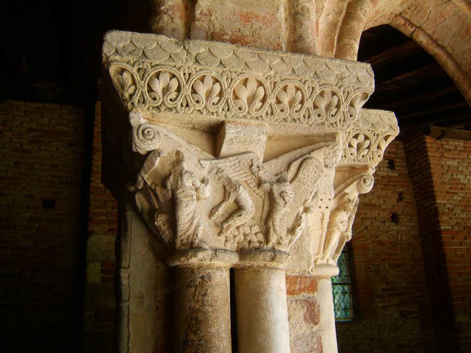 statue dragon pour pilier de portail
