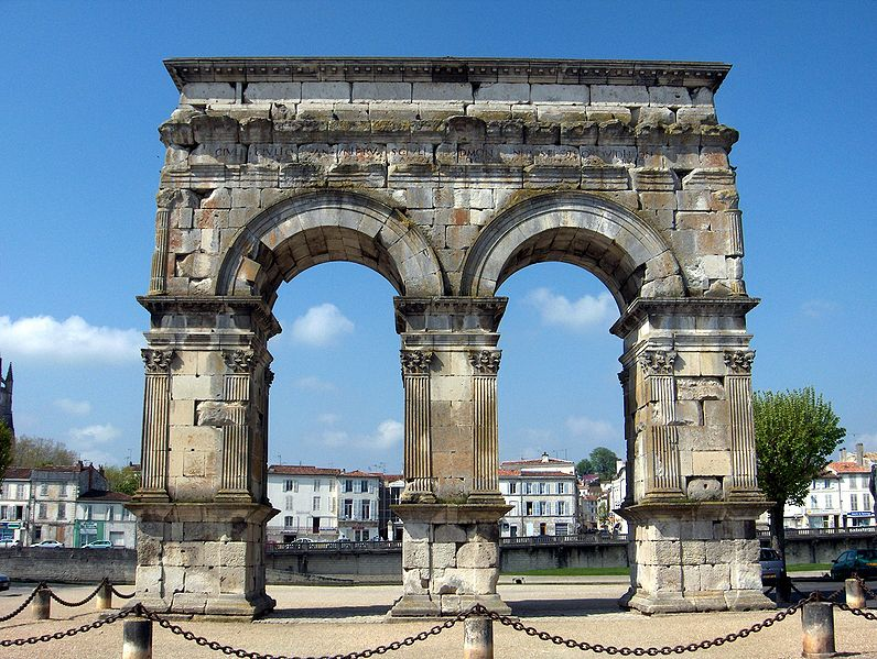 Arc de GERMANICUS a SAINTES